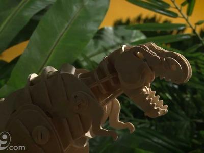 R.C Do-it-Yourself Wooden Dinosaur Kits