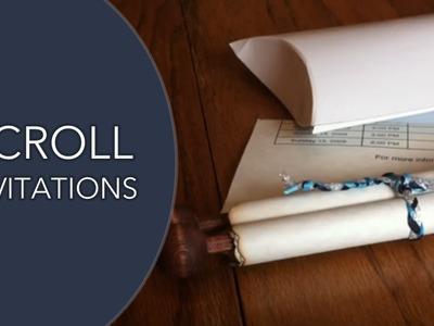 Scroll Invitations - Our Scroll Wedding Invitation