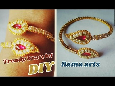 Silk thread bracelet making in different style | easy method