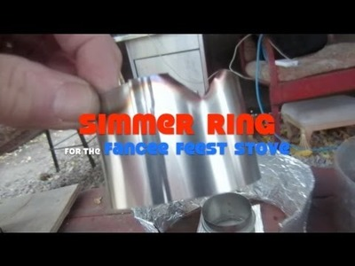 Simmer Ring for the Fancee Feest Stove))))