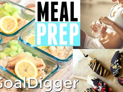 SIMPLE & EASY MEAL PREP IDEAS || HEALTHY RECIPES || WHAT I EAT