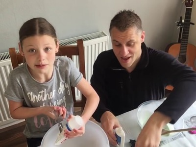 Slime - How to make Slime. UK (cheap ingredients)