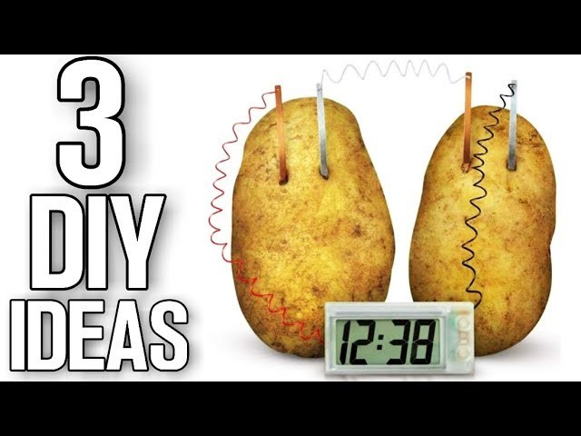 3 DIY ideas & Life Hacks