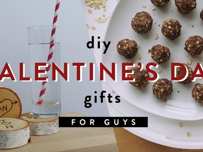 5 VALENTINE'S GIFT IDEAS FOR GUYS | THE SORRY GIRLS