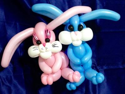 Adorable Easter Bunnies Balloon Twisting
