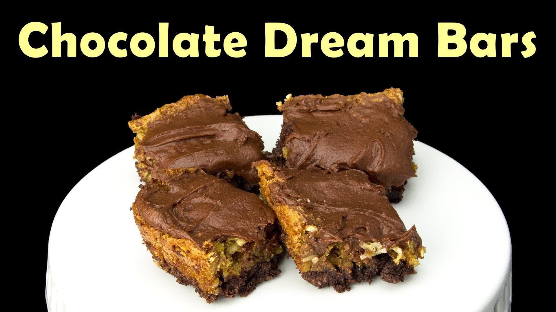 Chocolate Dream Bars: Baking with My Mom from Cookies Cupcakes and Cardio