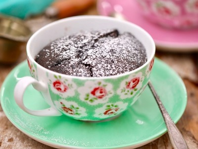 Chocolate Self-Saucing Pudding for 2 with my Husband, Kevin - Gemma's Bigger Bolder Baking Ep 160