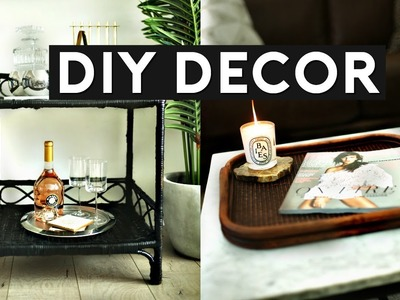 DIY ROOM DECOR | THRIFT STORE FLIP & UPCYLE! INEXPENSIVE ROOM DECORATIONS!