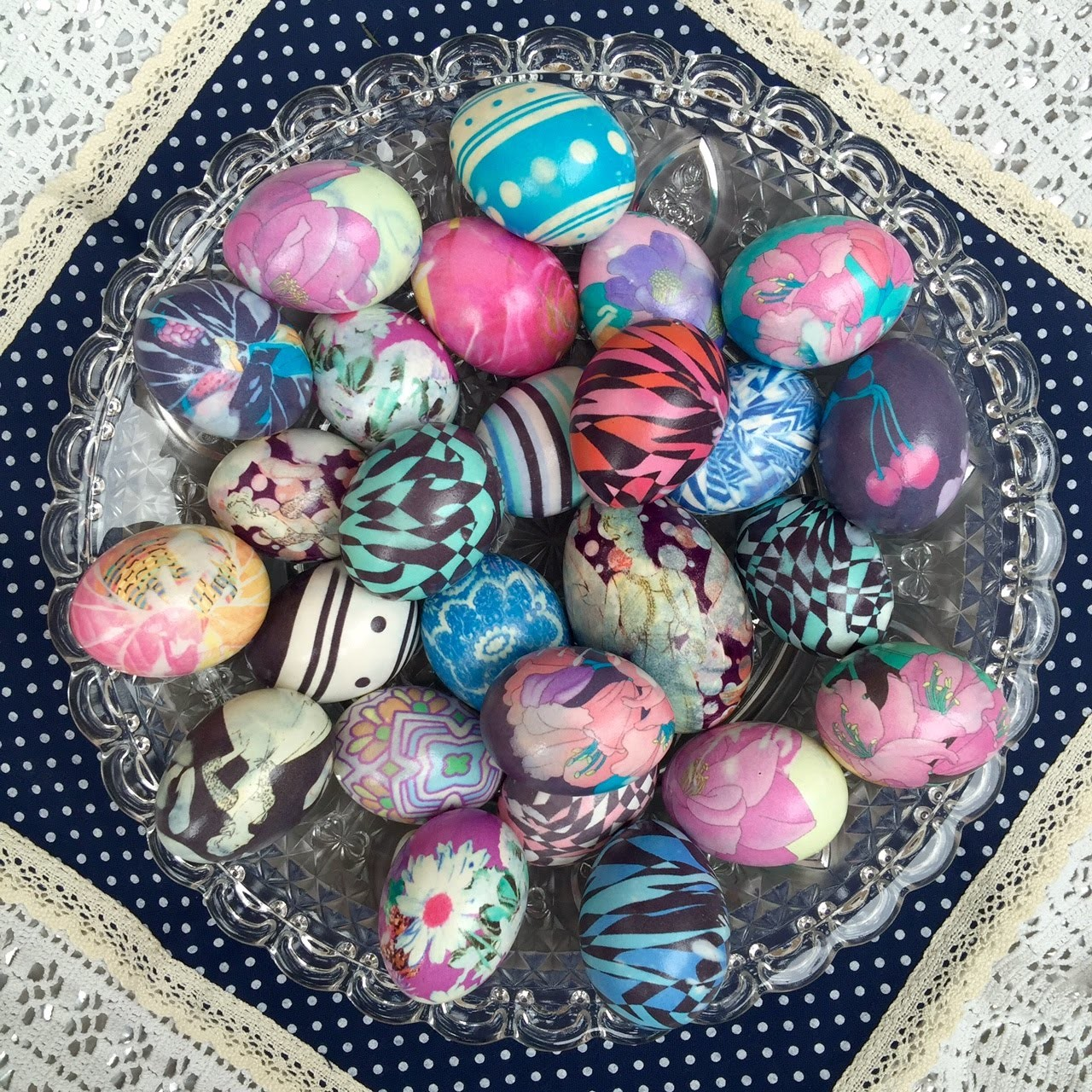 Easter How To Marble Easter Eggs With Nail Polish Meg