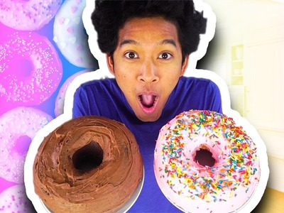 Giant Nutella Donuts!!! How To Make!