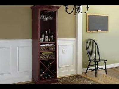 How to Build a Cocktail Hutch - This Old House