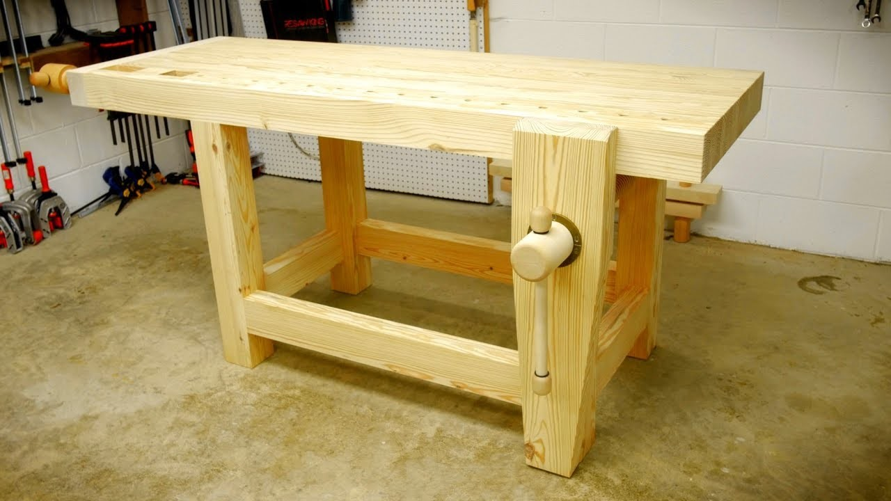 How To Build A Woodworking Workbench Part 1