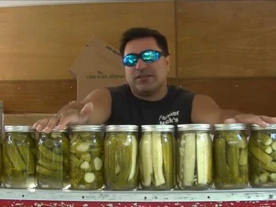 How to make garlic dill pickles