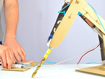 How to Make Hydraulic Powered Robotic Drill