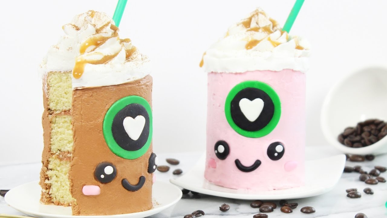 How to Make Mini Starbucks Cakes!