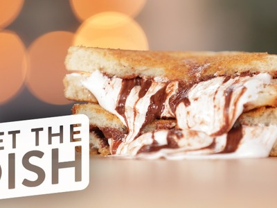 How to Make S'mores Grilled Cheese | Get the Dish