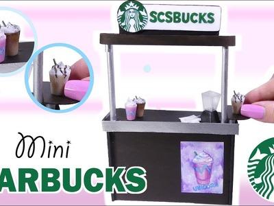 How To Miniature Starbucks Tutorial. DIY Doll.Dollhouse