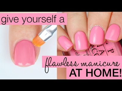 How to Paint Your Nails Perfectly (Salon Manicure at Home!) || KELLI MARISSA