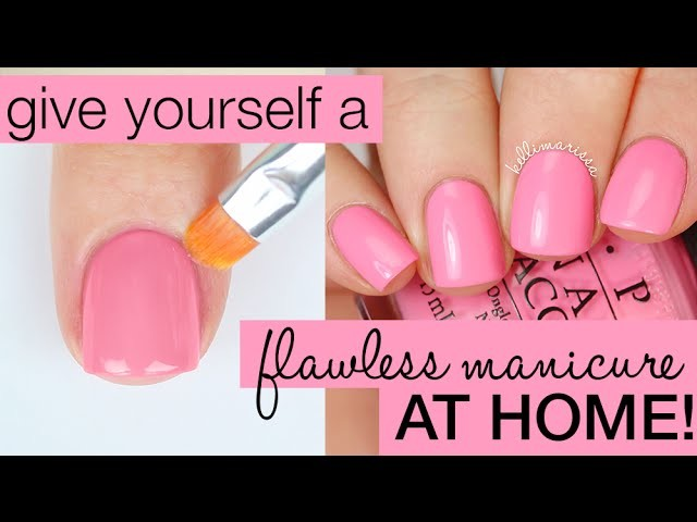 How To Paint Your Nails Perfectly Salon Manicure At Home Home Decorators Catalog Best Ideas of Home Decor and Design [homedecoratorscatalog.us]