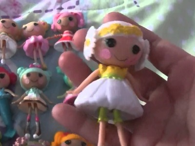 Jasmine's mini lalaloopsy collection