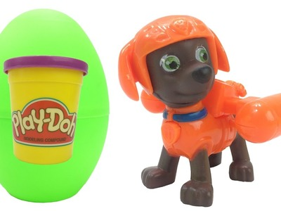 Learn Colors With Play Doh and Surprise Eggs for Children - Paw Patrol & Peppa Pig Colours for Kids