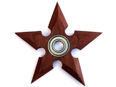 Making A Wooden Shuriken Fidget Spinner