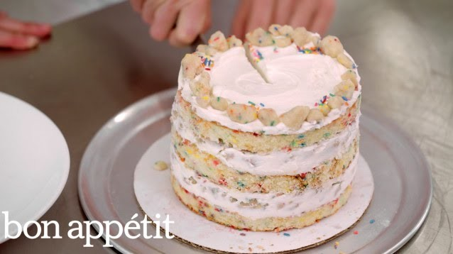 Momofuku Milk Bar's Secret to Amazing Birthday Cake | Sweet Spots | Bon Appetit