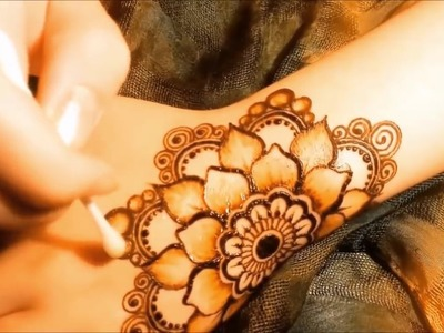 Most Beautiful Arabic Henna Mehndi Designs For Hands For Marriage   Simple And Easy Mehendi Designs