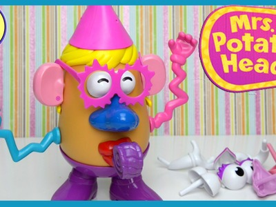 Mrs. Potato Head Party Spudette Toy Figure Set Unboxing Review Play - Kids Toys