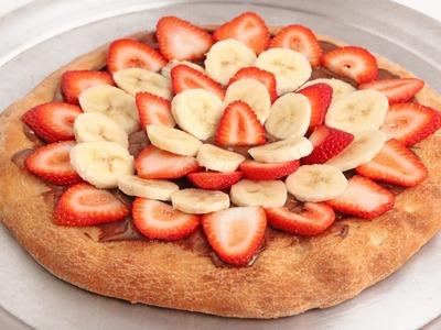 Nutella Pizza Recipe - Laura Vitale - Laura in the Kitchen Episode 919