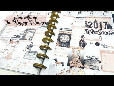 Plan with Me: New Year in my Happy Planner!