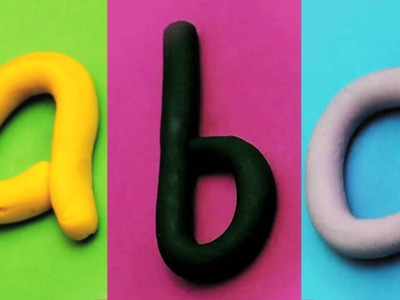 Play Doh Alphabets   ABC Song   Learn ABC From Baby Box