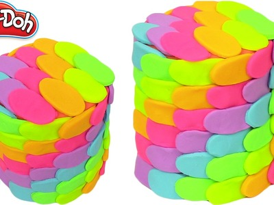 Play Doh Rainbow Learning Cake 2 Cakes Frozen Plastilina y Juguetes Castle Toys