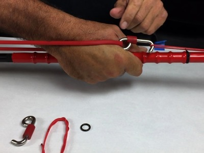 Pole Spear Resting Hook - How To Install