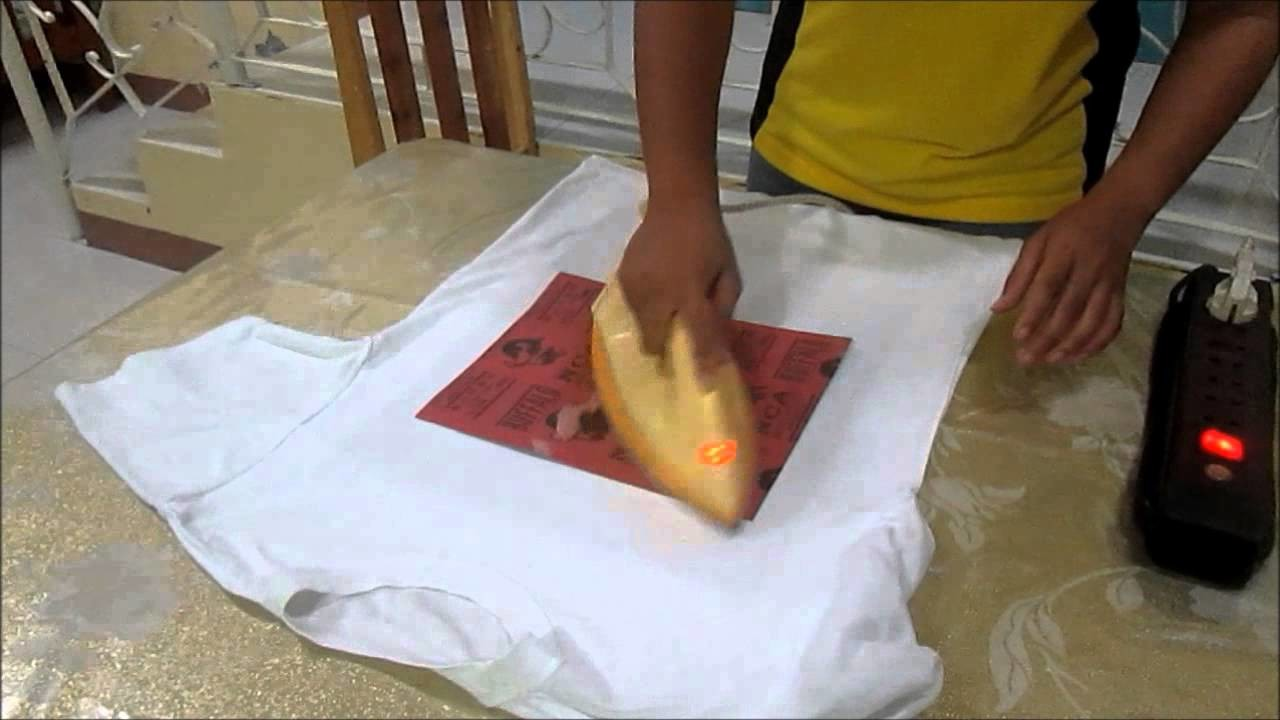 Printed Tshirt by the use of Crayons (educ12a)