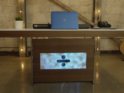 Putting Together the Divide Dream Desk - Woodworking