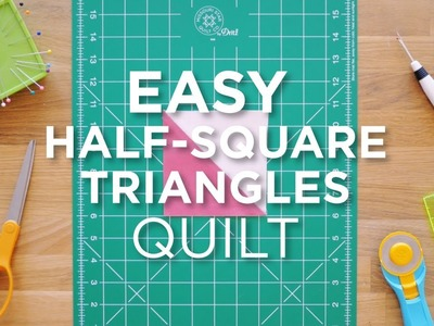 Quilt Snip Mini Tutorial - Easy HST