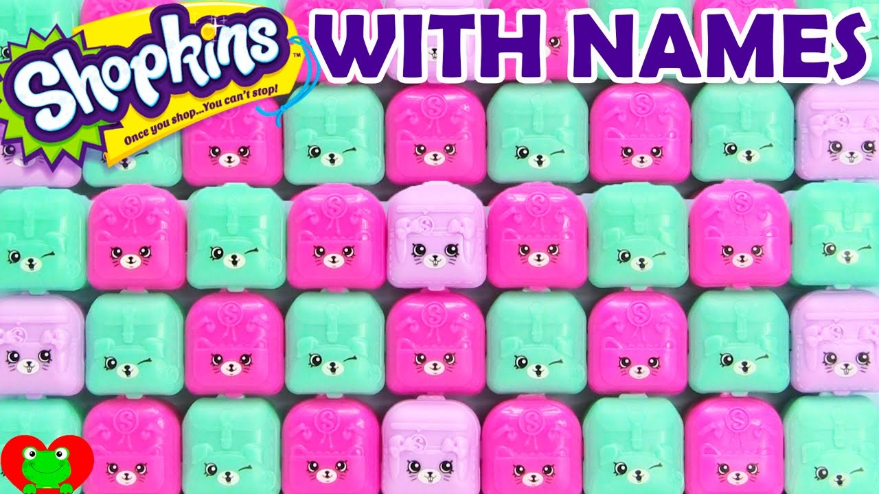 Shopkins Challenge Answers Season 1 2 3 4 5 And Exclusives In Petkins Backpack
