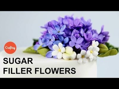 Small Sugar Filler Flowers | Cake Decorating Tutorial with Jacqueline Butler