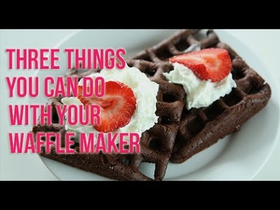 Three Desserts You Can Make With A Waffle Maker