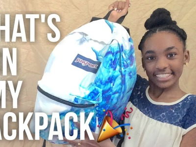 What's In My BackPack 2016-2017????