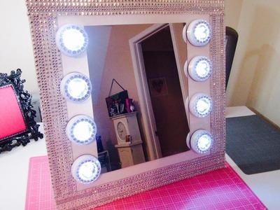 $13 Vanity Mirror -Dollar Tree w.extra bling