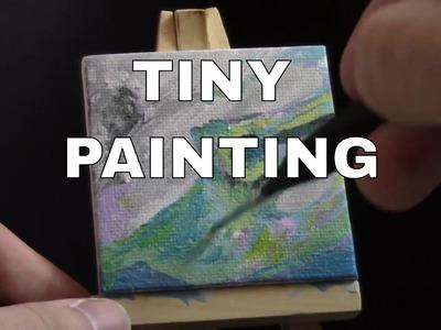 2 smol paintings ~~ You Send it, I Art it n stuff