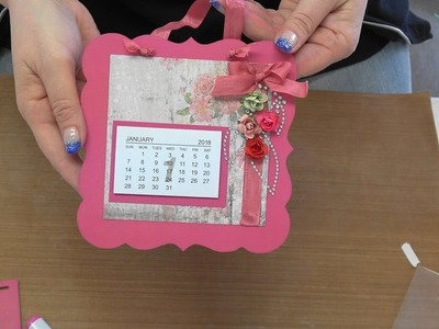 #203  Pigments Inks, Coloring Bling & Pearls and Making Calendars by Scrapbooking Made Simple