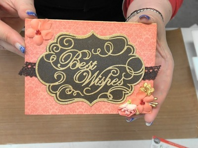 #204 Foils & Leafing Flakes with Simply Defined Embossing Folders & Foam by Scrapbooking Made Simple