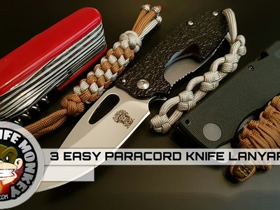 3 Easy Ways to Add a Paracord Knife Lanyard