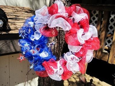 4th of July $5.00 Wreath ~ Featuring Miriam Joy