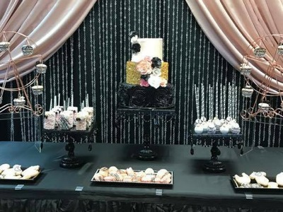 A Royal Rose Gold Baby Shower|Tips & Ideas|Dollar Tree Decor|DIY