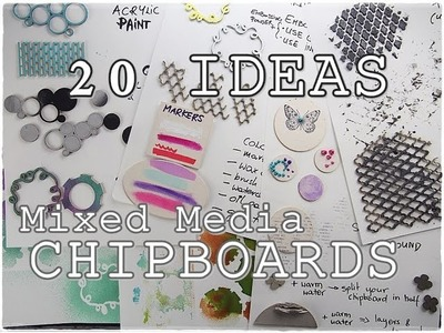 All about CHIPBOARDS ♡ 20 Ideas ♡ Maremi's Small Art ♡
