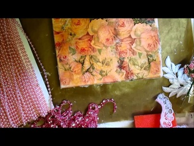 Altered Trinket Box Tutorial & Shabby Chic Masquerade Mask - jennings644
